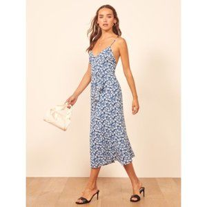 NEW Reformation dietrich raquel midi dress